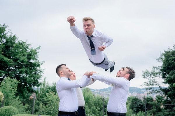 Hochzeitsbilder mal anders - Hochzeitsfotografie Köln